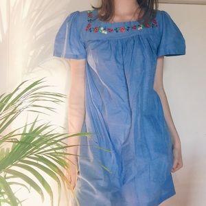 Vintage 60s Babydoll Dress